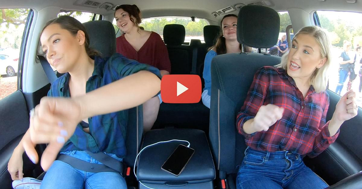 Watch: QDR Carpool Karaoke with Maddie & Tae