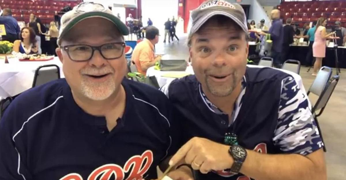 The Q Morning Crew Try ALL The NC State Fair Food!