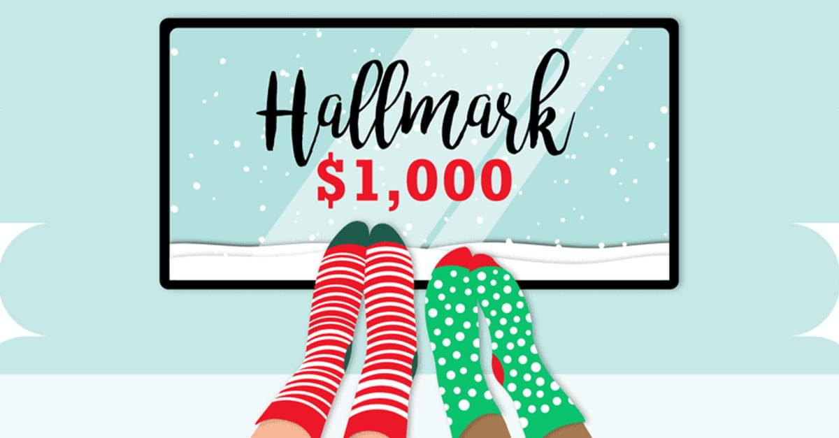 Get paid $1,000 for watching Hallmark Christmas movies