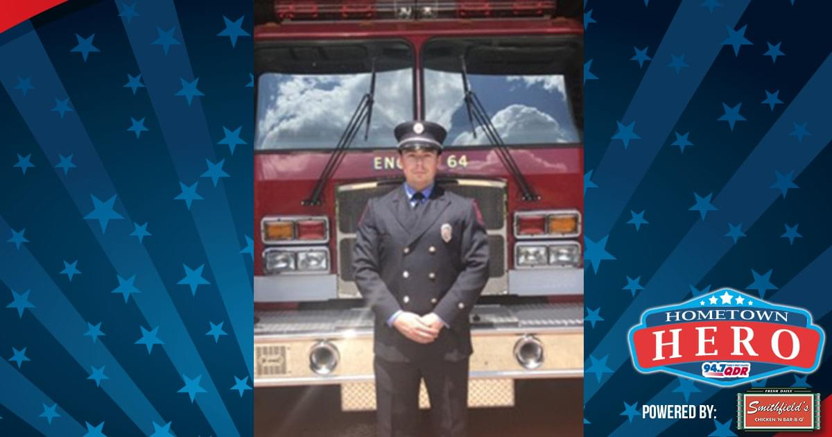 Hometown Hero November 20th: Corey Hudgins