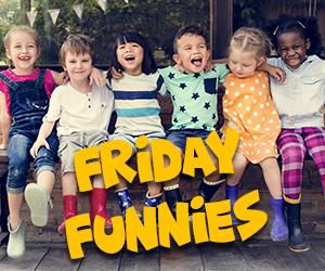 Friday Funnies with QDR Kid Comics