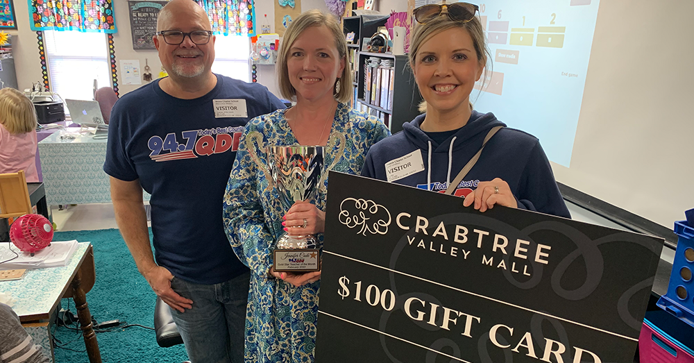 Gold Star Teacher of the Month: February 2020 – Jennifer Cade
