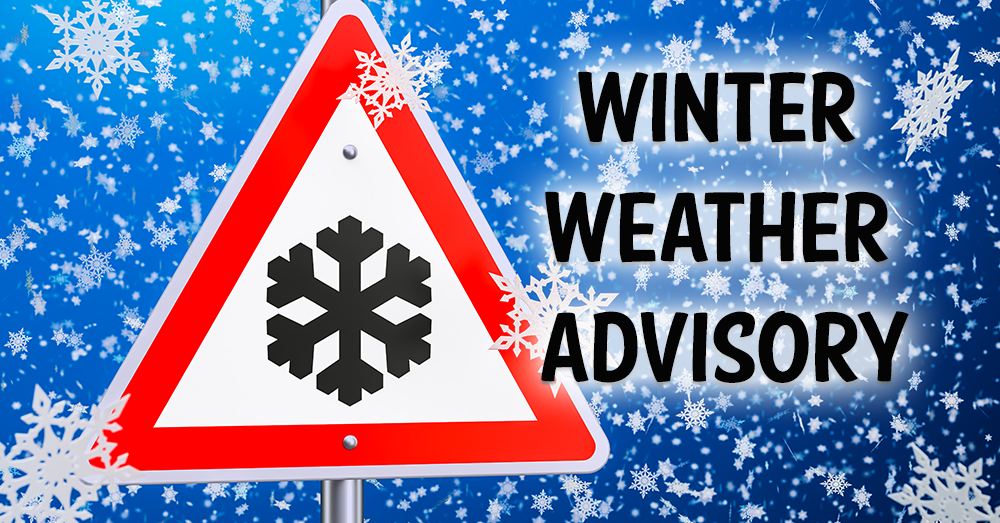 First Snow Advisory Issued