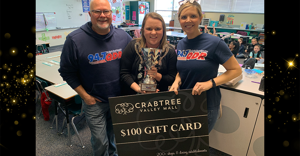 Gold Star Teacher of the Month: March 2020 – Cristy Speight