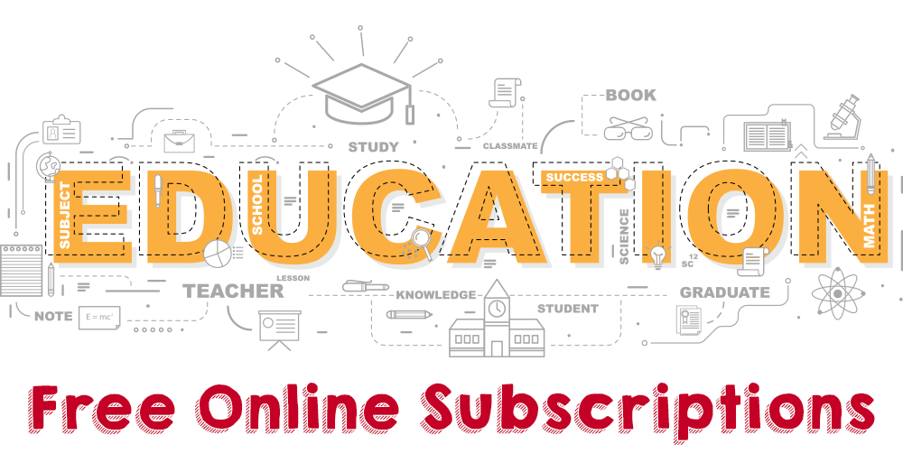 Education Companies Offering Free Subscriptions