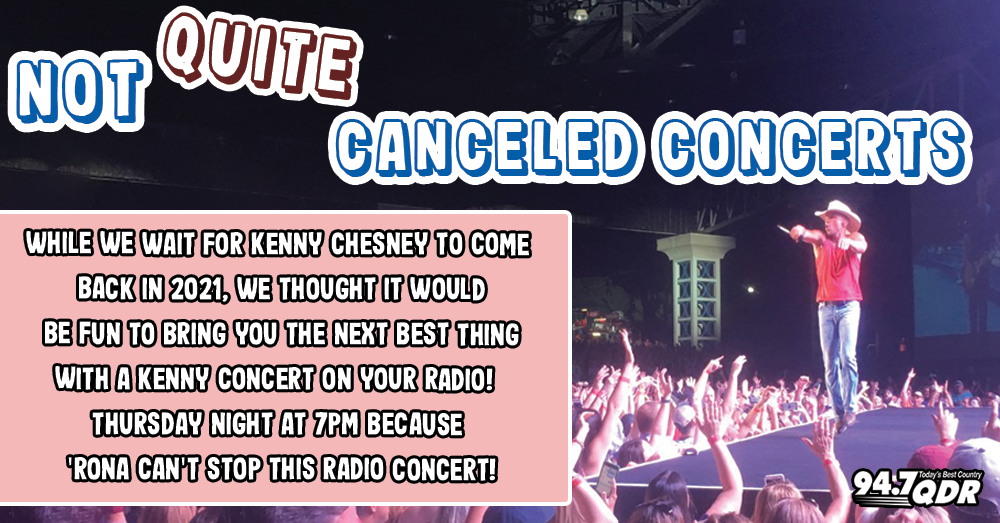 94.7's Not Quite Canceled Concerts!