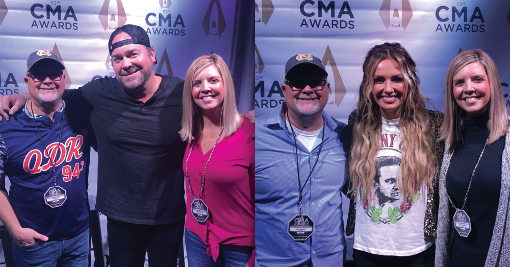 Mike & Janie catch up with Carly Pearce & Lee Brice!