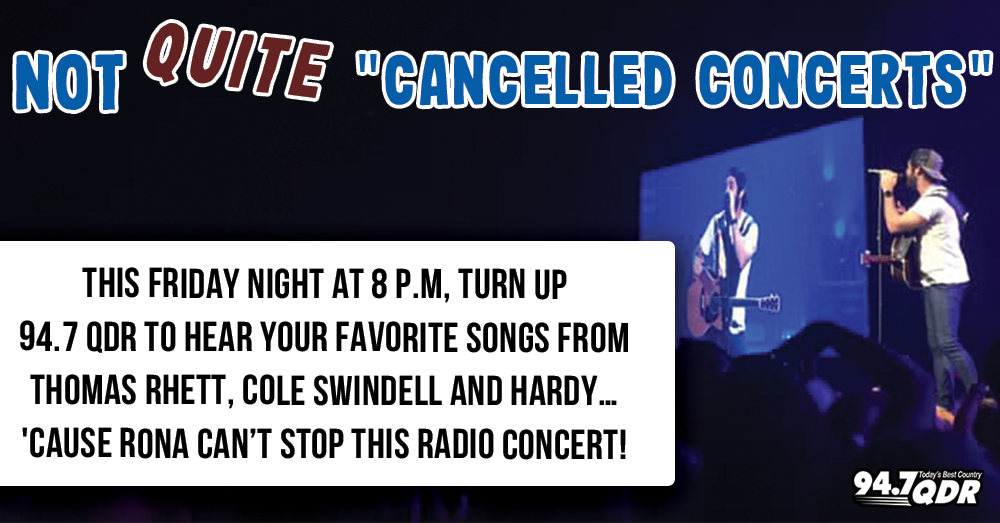 Not Quite Canceled Concert: Thomas Rhett
