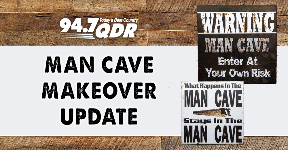Man Cave Makeover Winner Update!