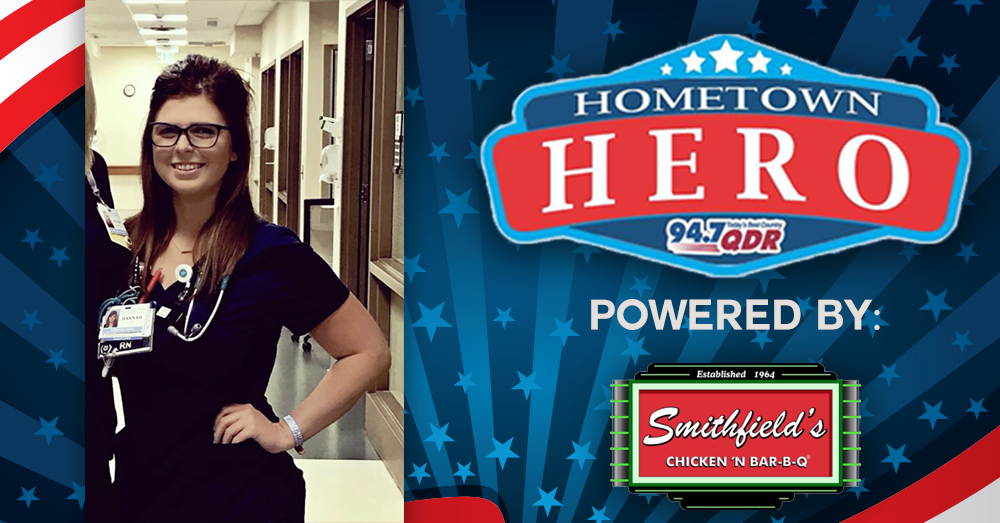 Hometown Hero August 19th: Hannah Barefoot