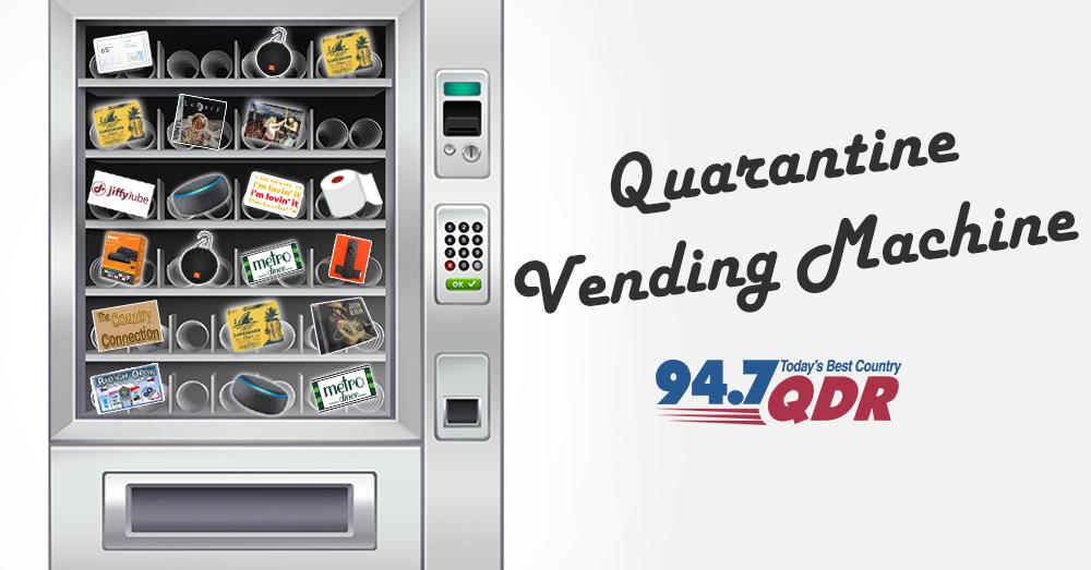 QDR Quarantine Vending Machine