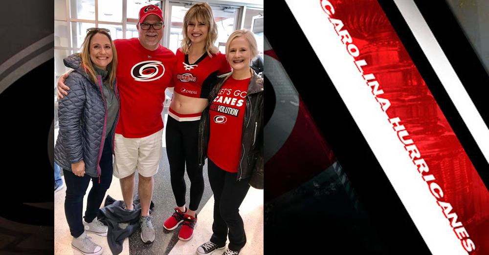 Mike & Janie speak with the Carolina Hurricanes!