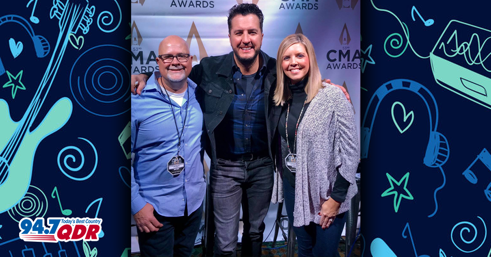 Luke Bryan chats with Mike & Janie!