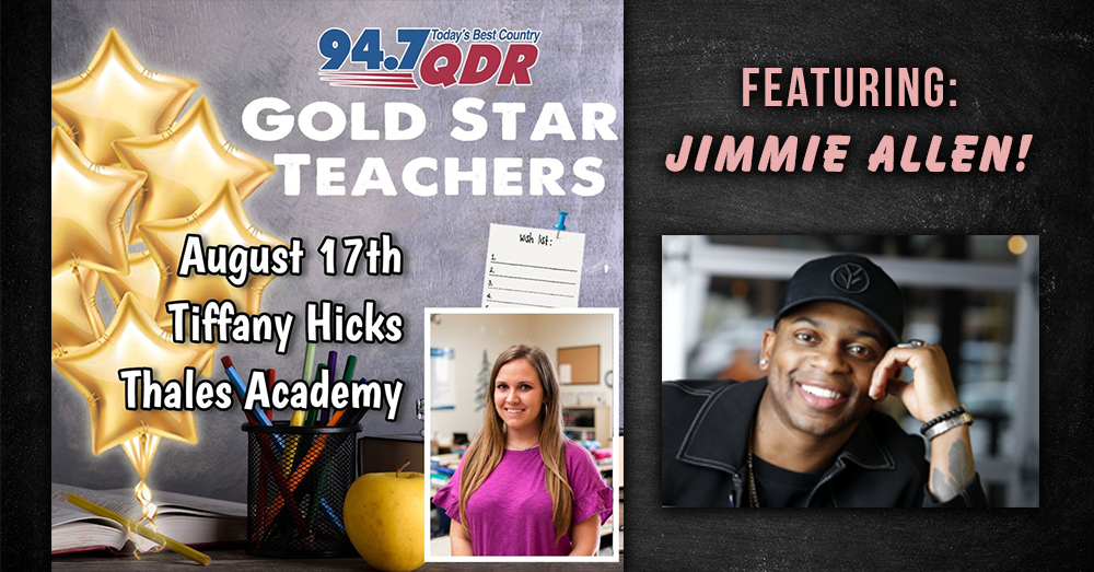 QDR's first Classroom Crash with Jimmie Allen!