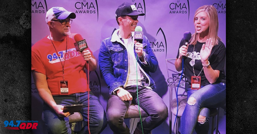 Granger Smith joins Mike & Janie!