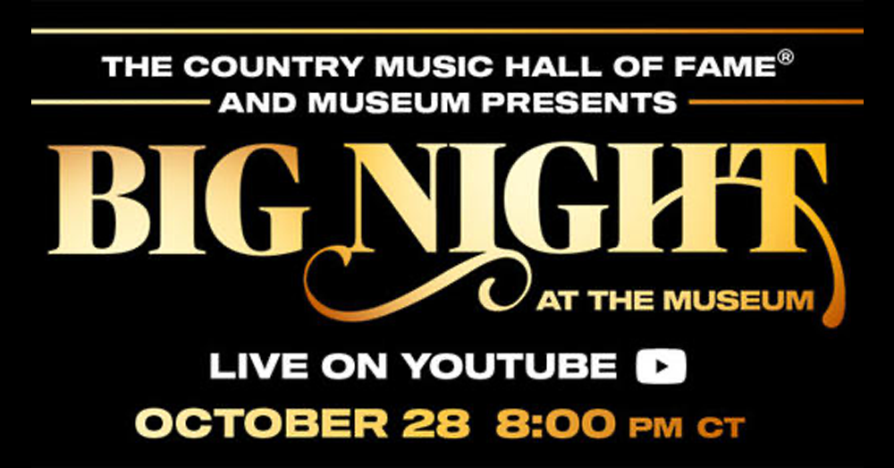 """Country Music Hall of Fame and Museum's """" Countdown to BIG NIGHT (At The Museum)"""""""