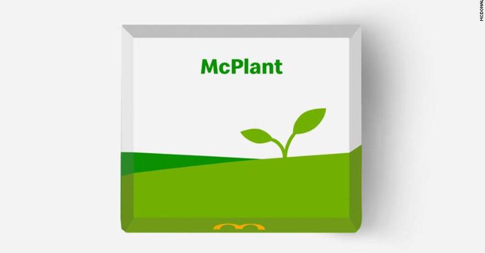 McDonald's introduces their new vegan burger!