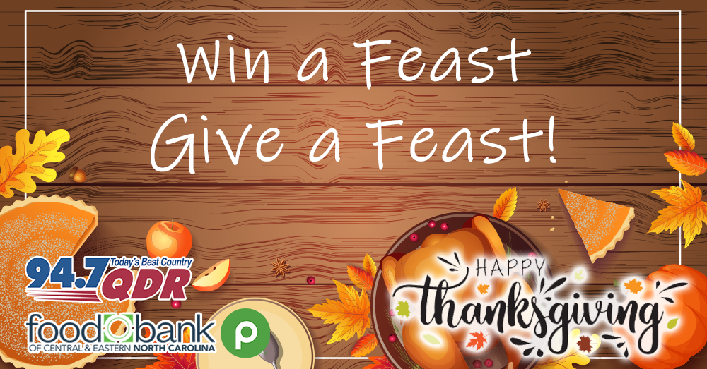 Win a Feast, Give a Feast!