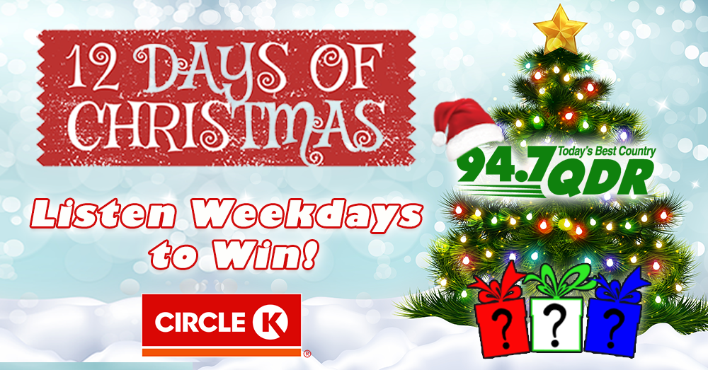 Celebrate the 12 Days of Christmas and Pick Your Present!