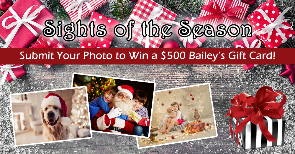 You could win $500 to Bailey's Fine Jewelry!