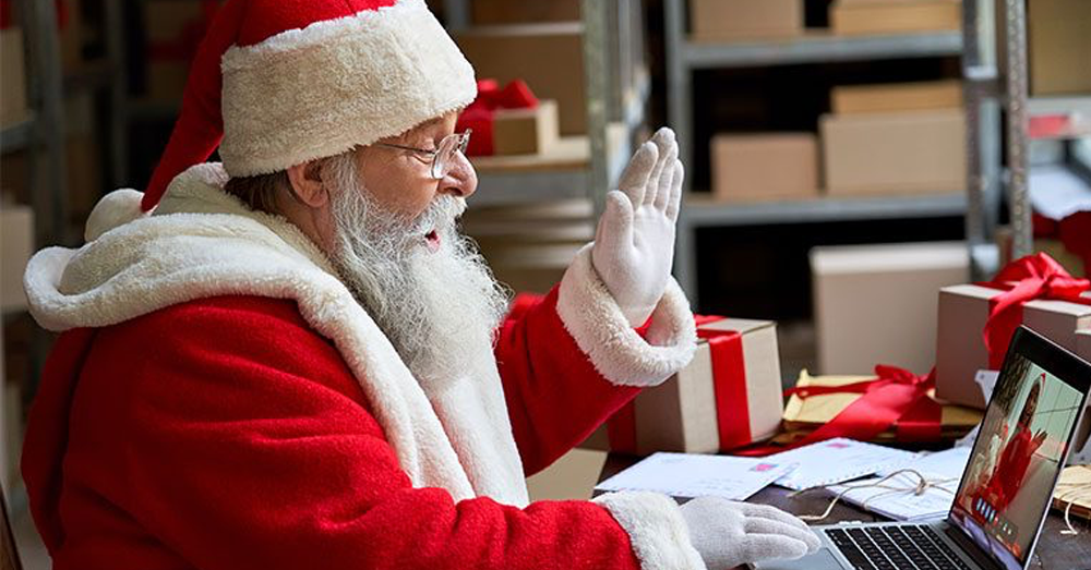 How Your Kids Can Virtually Meet Santa This Year!