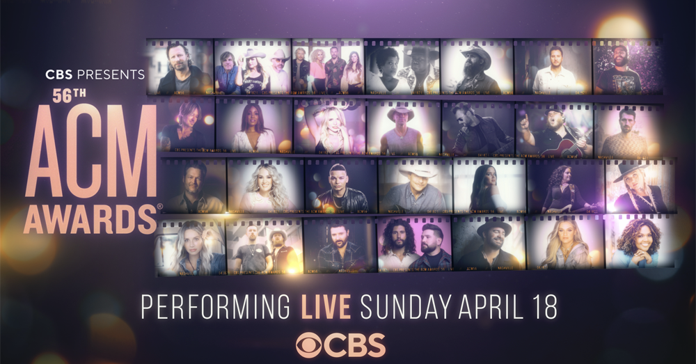 Full Lineup Announced For The  56th Academy of Country Music Awards!