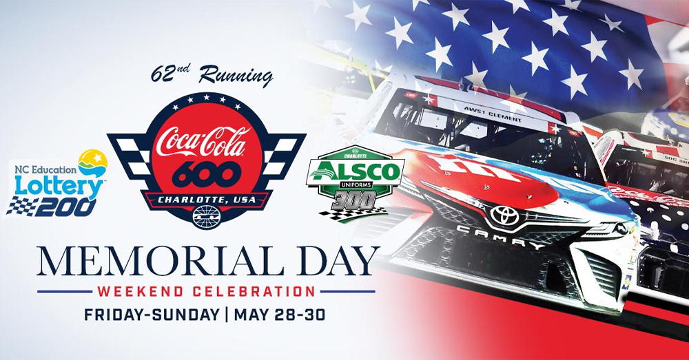 Q – Morning Crew talks about the Coca Cola 600!