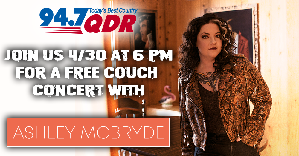QDR Couch Concert with Ashley McBryde
