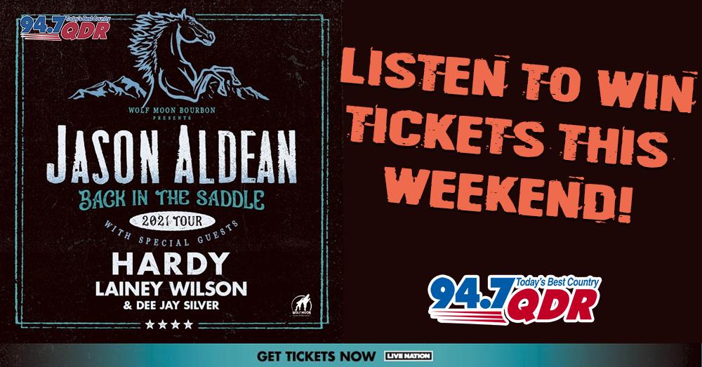 Enter to Win Jason Aldean Tickets!