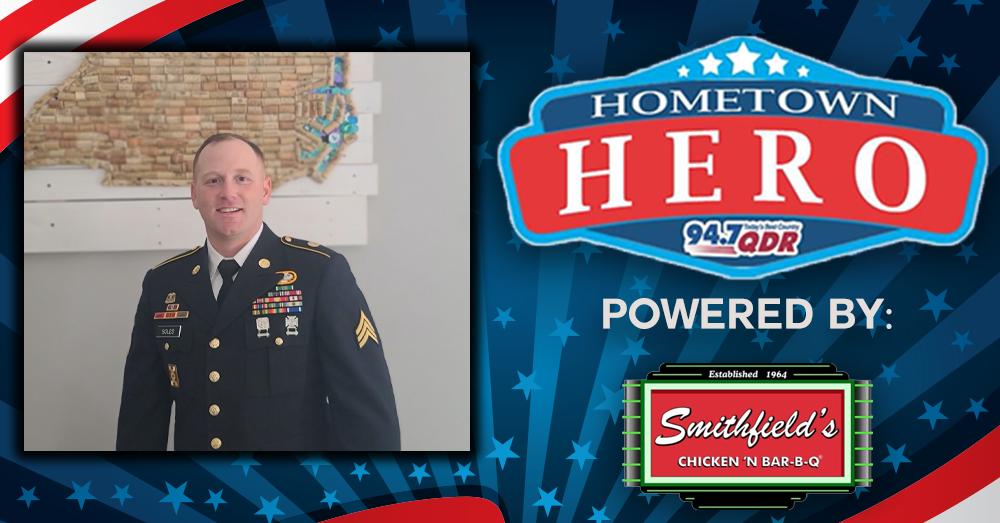 Hometown Hero and Grand Prize Winner Johnathan (Scott) Soles!