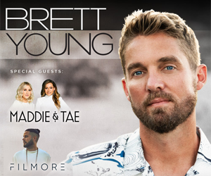Enter to Win: Brett Young