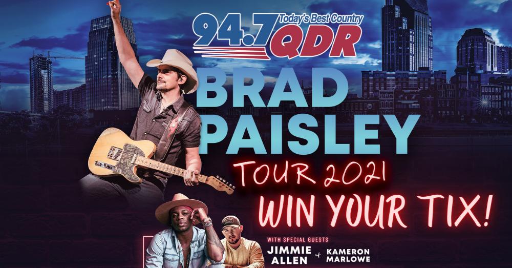 Win Brad Paisley Tickets!