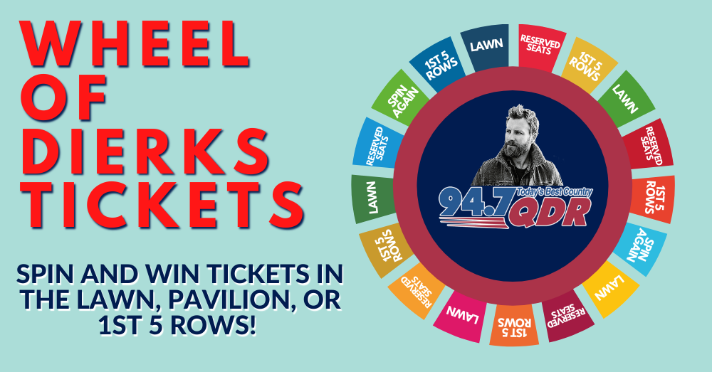 Wheel of Dierks Tickets
