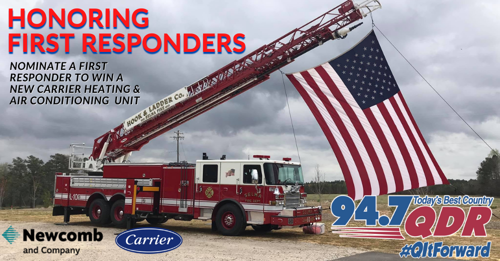 Q IT FORWARD – First Responders Month