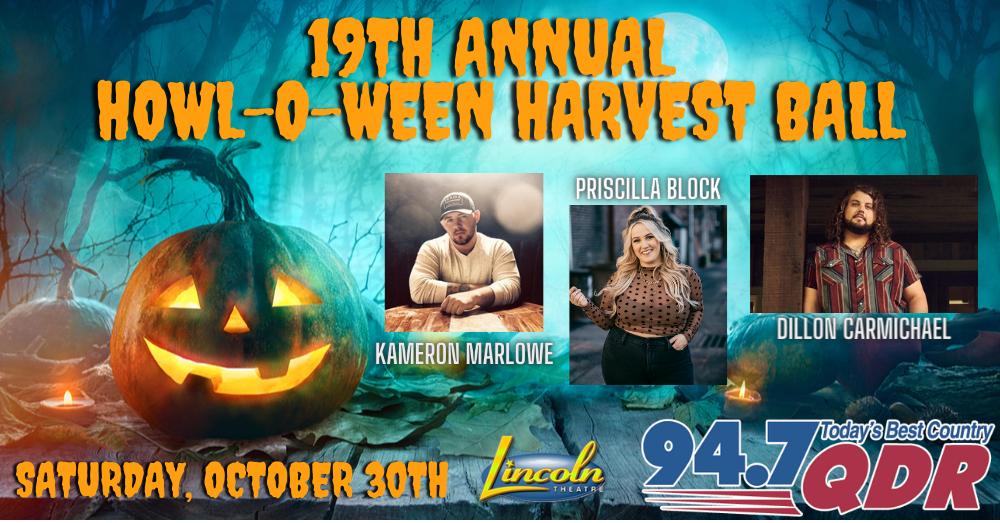 19th QDR Howl-O-Ween Harvest Ball