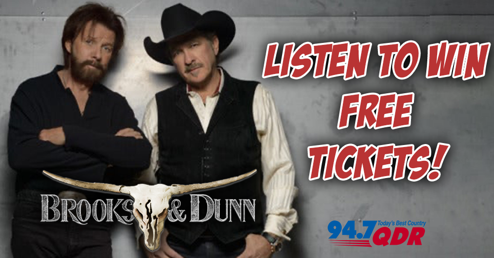 Listen To Win: Brooks & Dunn Ticket Giveaway