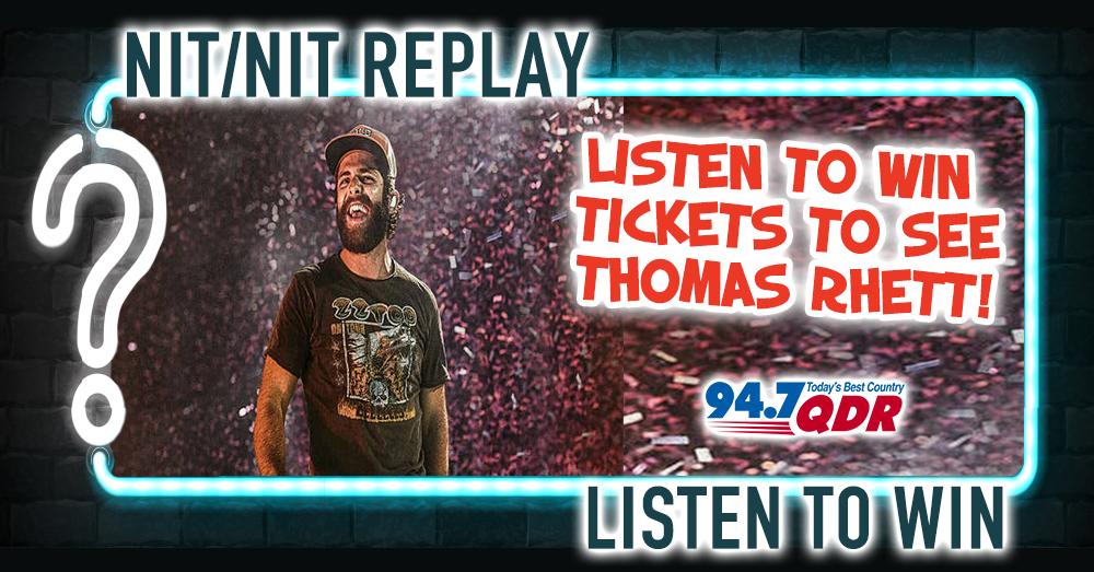 NIT Replay: Thomas Rhett Tickets