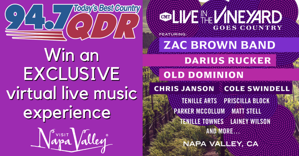 Win Tickets to Live in the Vineyard Goes Country