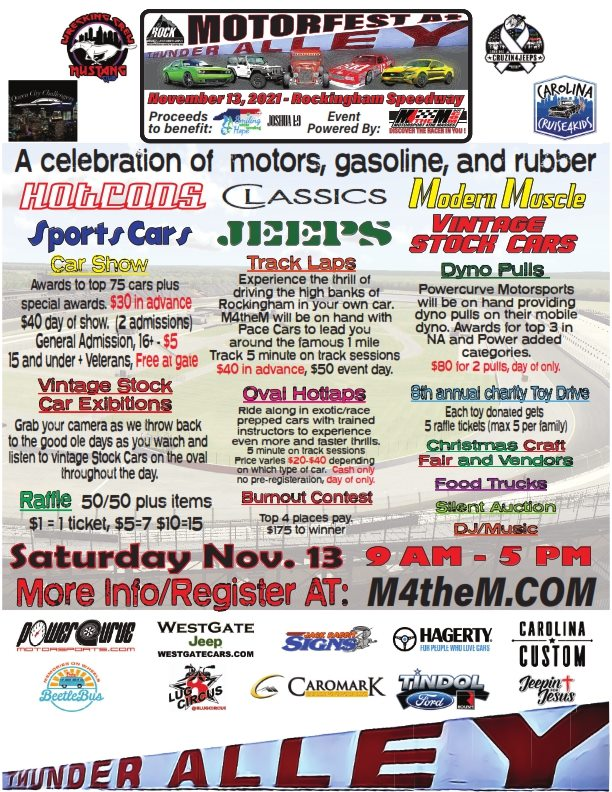 Motorfest at Thunder Alley Car & Jeep Show
