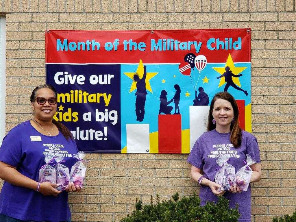 Purple Up! This Thursday For Military Children