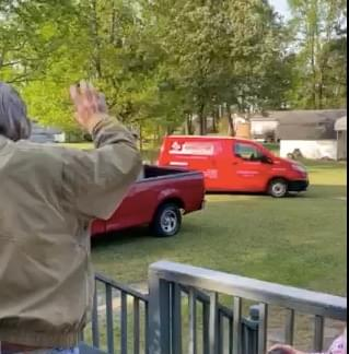 WATCH: Griffin Exterminating Surprises Dedicated Employee