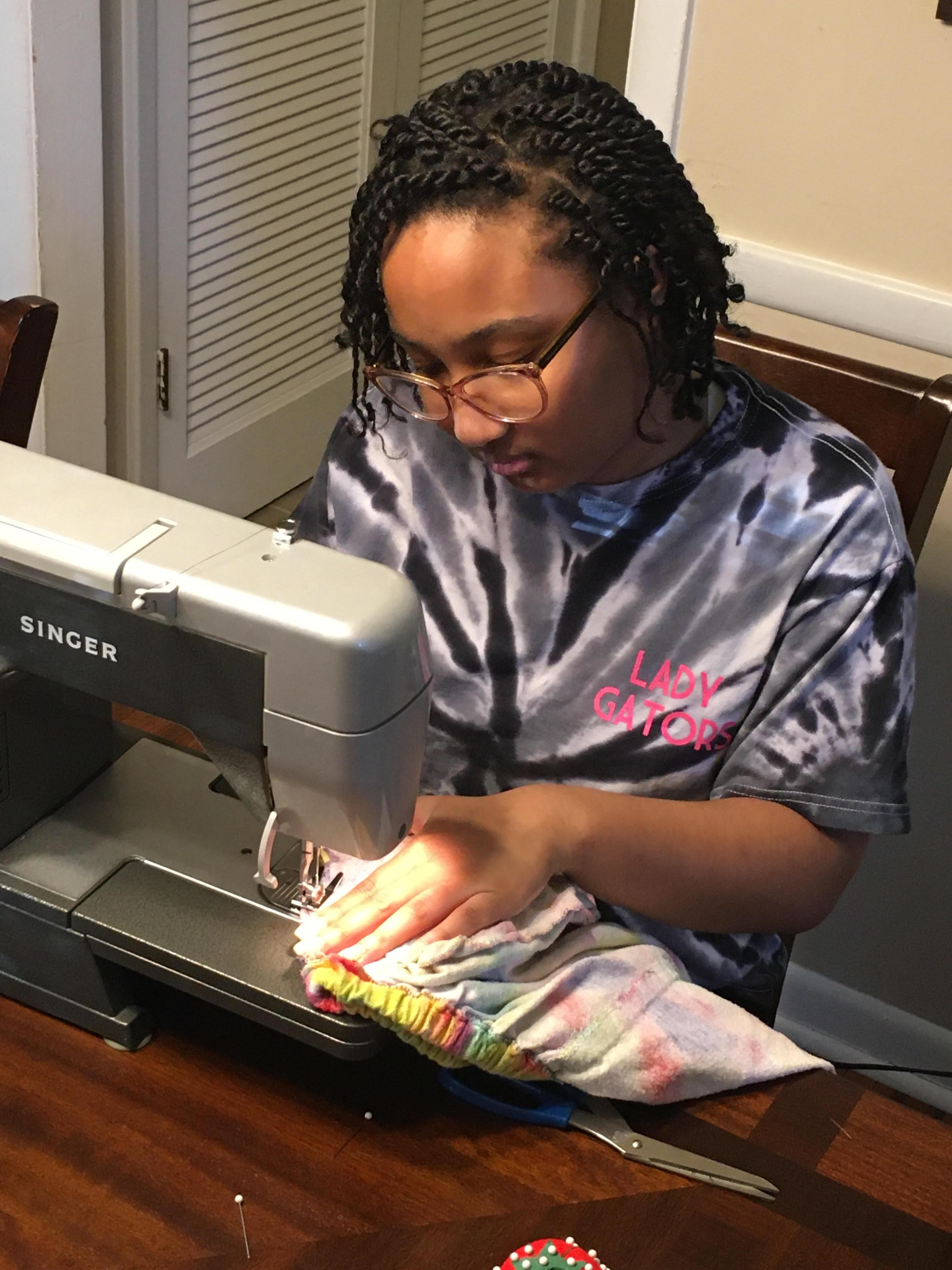 WCPS Remote Learning Includes Sewing Machine Checkout