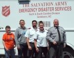 MARCHING ORDERS: Salvation Army Leaders Leave Goldsboro In June