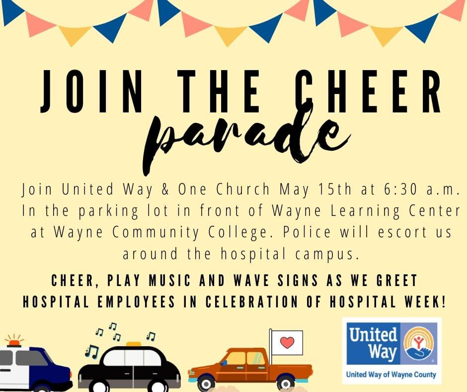 Celebrate National Hospital Week With A Cheer Parade