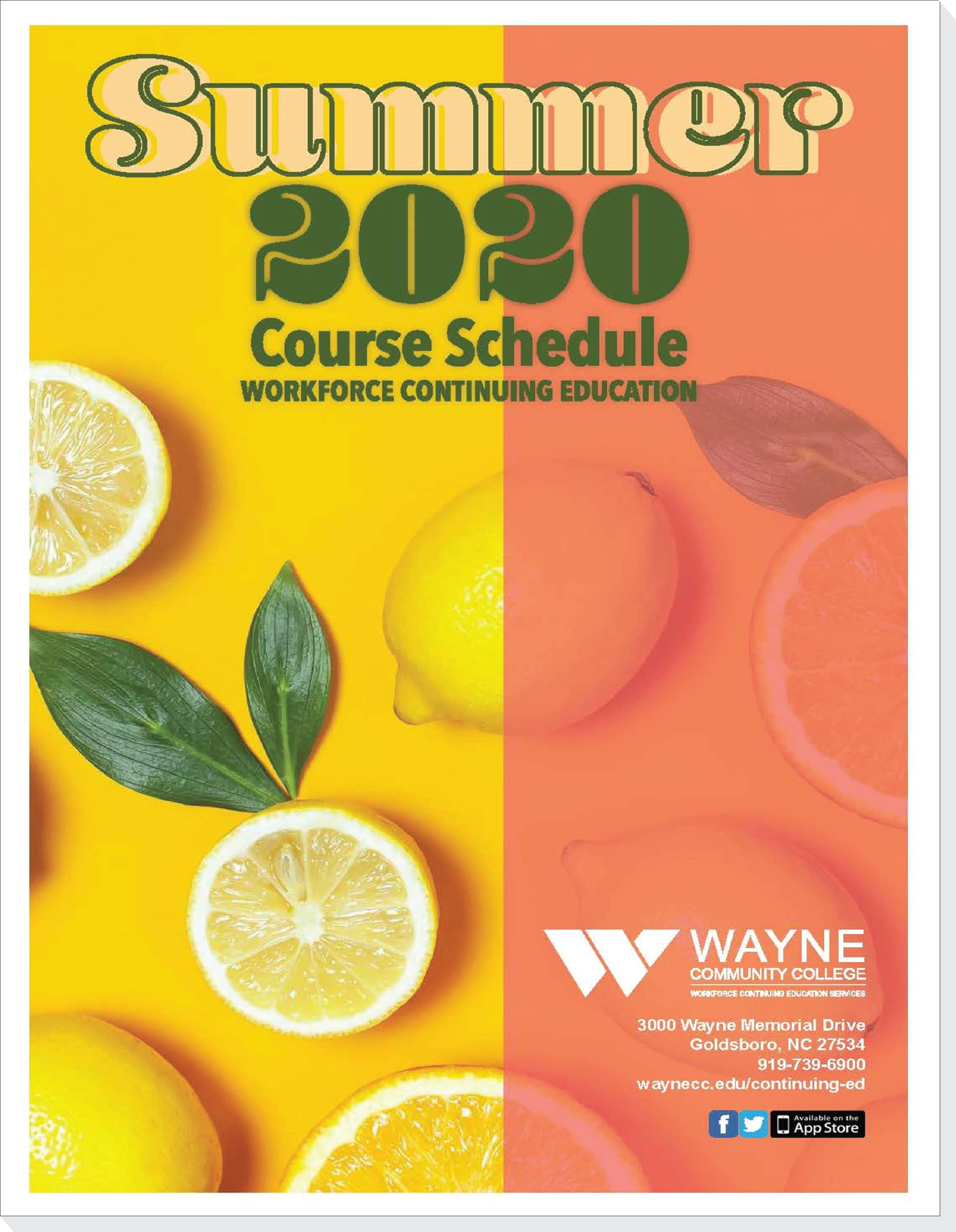 WCC Moves Summer Workforce Continuing Education Courses Online