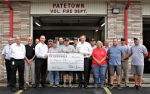 Grant Presented To Patetown Fire Department (PHOTO GALLERY)