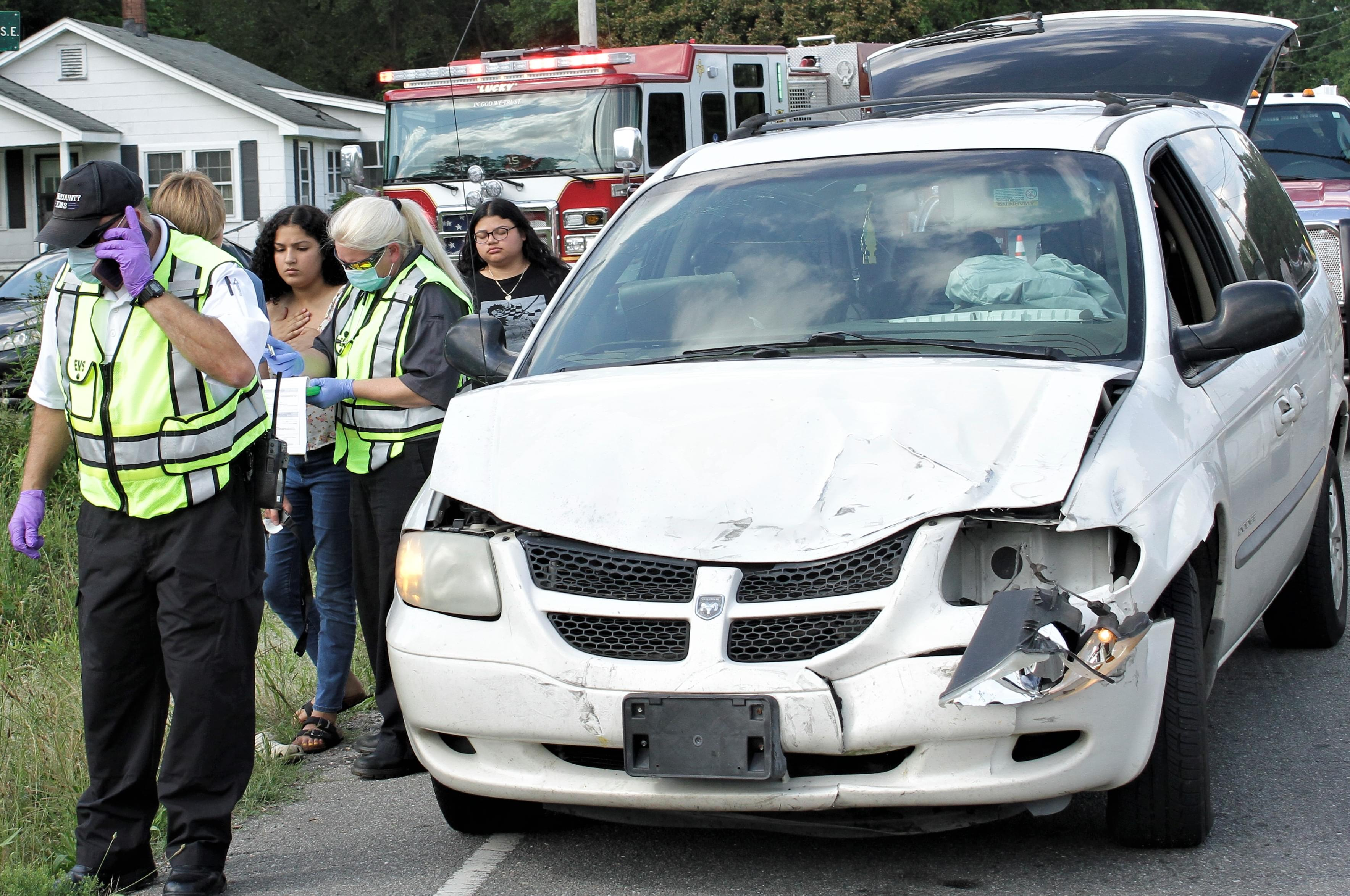Vehicles Collide In Mar-Mac (PHOTOS)