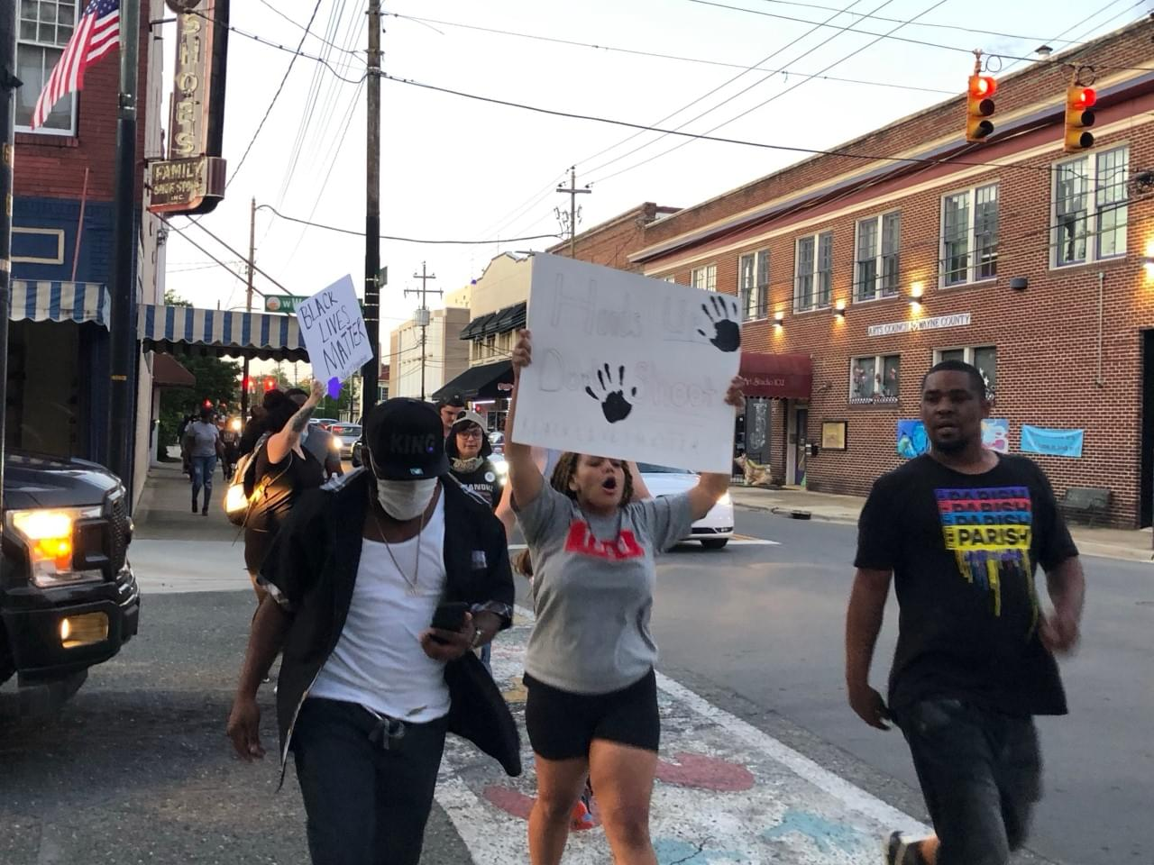 Demonstrations Come To Downtown Goldsboro