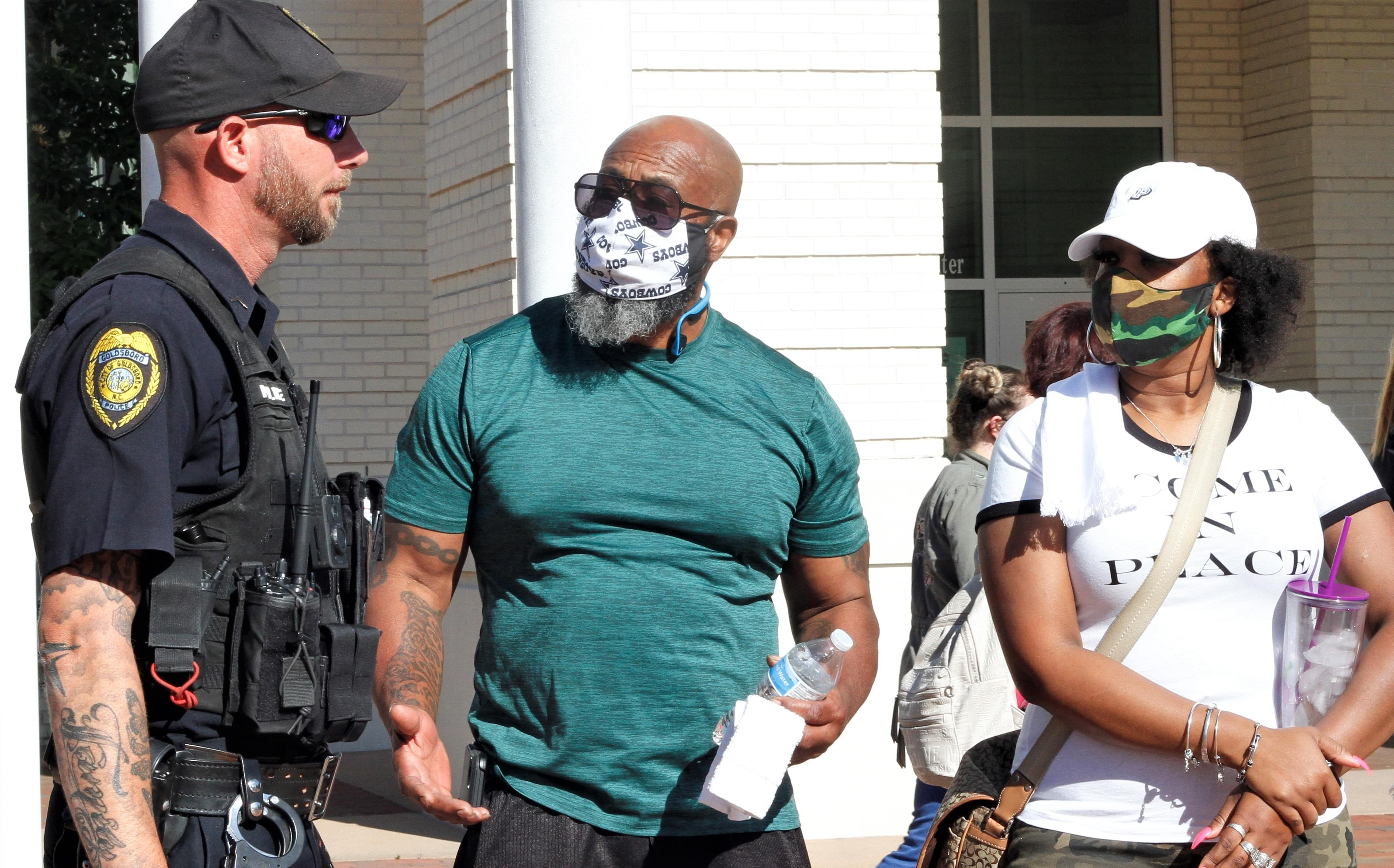 Marching For Justice In Downtown Goldsboro (PHOTO GALLERY)