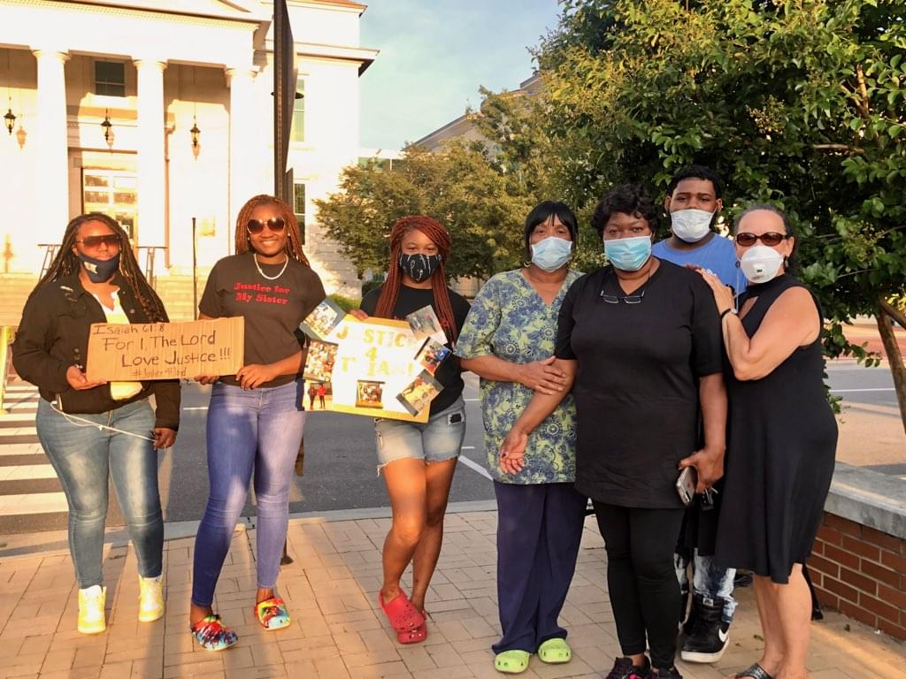 George Floyd's Aunt Attends Tuesday Protest In Goldsboro